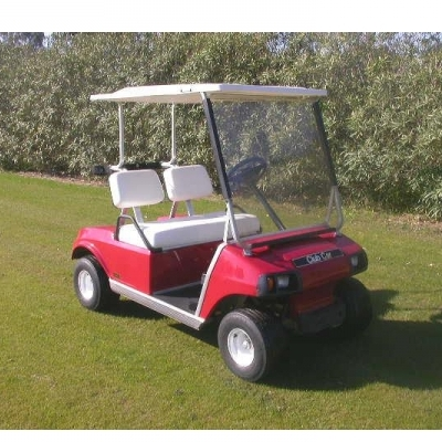 Club Car Rojo Gasolina